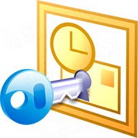 PST file password