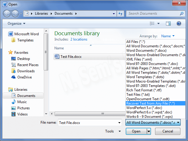 Repair Word Document by using 4 Easy Manual Tricks