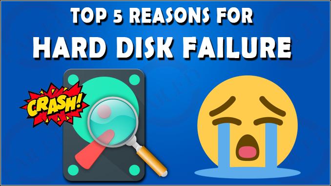detect hard disk failure