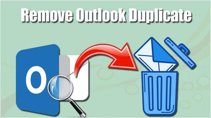 remove Outlook duplicate emails