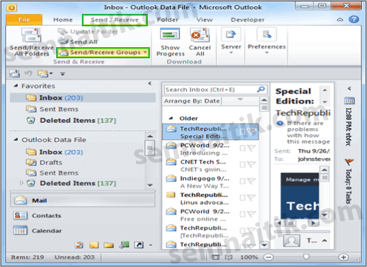 Outlook Error 0x800cccdd