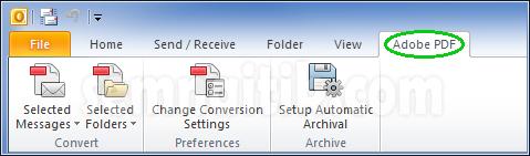Outlook Adobe PDF