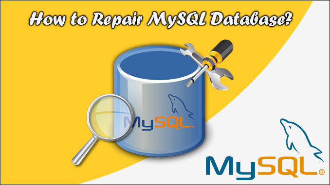 repair MySQL database manually