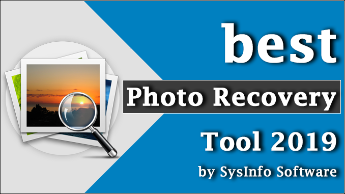 best Photo Recovery tool