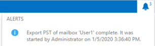 export pst to mailbox