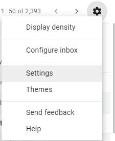 click on setting gear