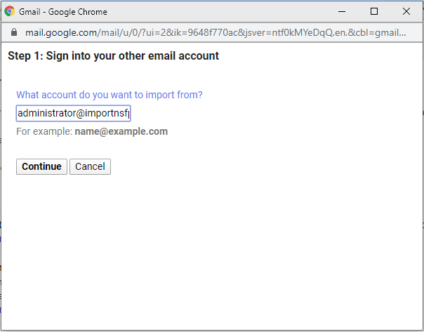 enter zoho mail id