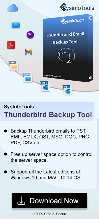 Thunderbird Email Backup Tool